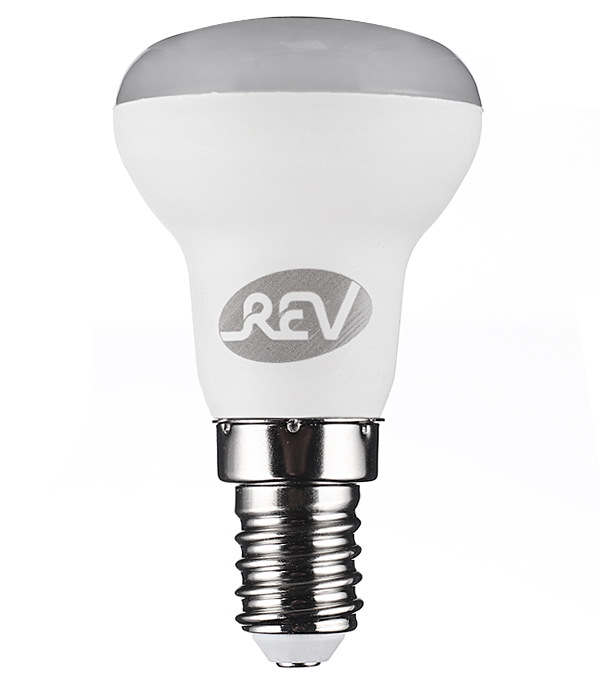 Лампа светодиодная REV 3 Вт E14 рефлектор R39 2700 К теплый свет 230 В матовая цена 2017