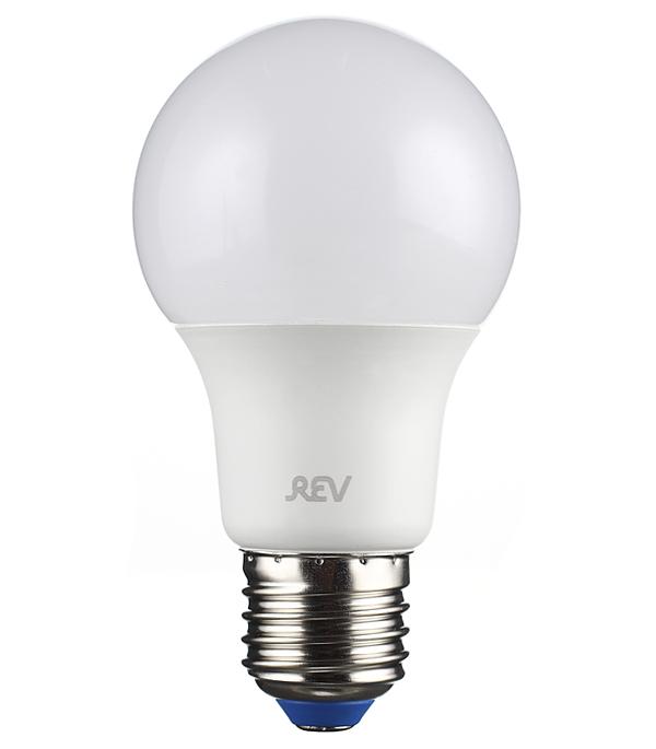 Лампа светодиодная REV 5 Вт E27 груша A60 2700 К теплый свет 230 В матовая лампа светодиодная sonnen 5 40 вт цоколь e27 свеча теплый белый свет led c37 5w 2700 e27 453707
