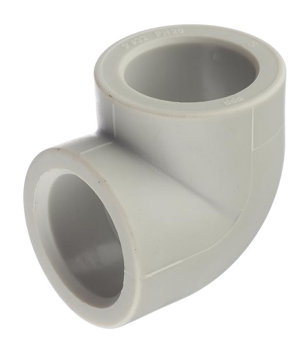 цена на Угол полипропиленовый 32 мм, 90° FV-PLAST серый