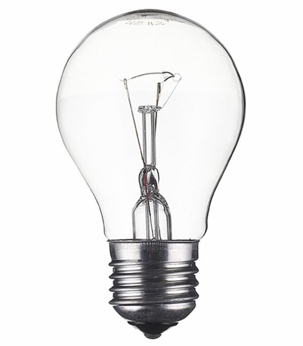 Лампа накаливания Philips 60 Вт E27 груша А55 220 В прозрачная