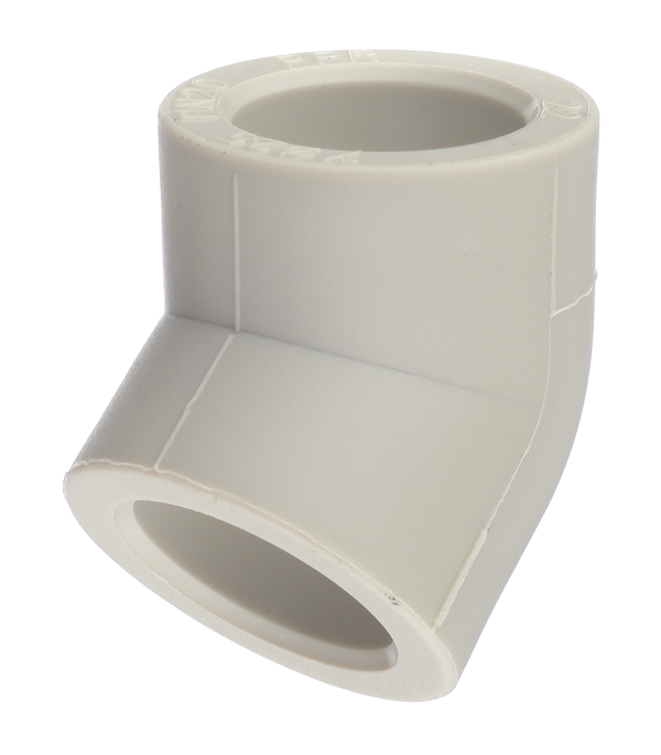 Угол полипропиленовый 25 мм, 45° FV-PLAST серый цены онлайн