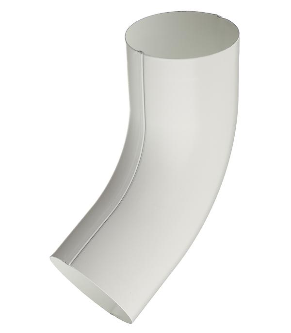 Колено трубы металлическое Grand Line d90 мм 60° белое