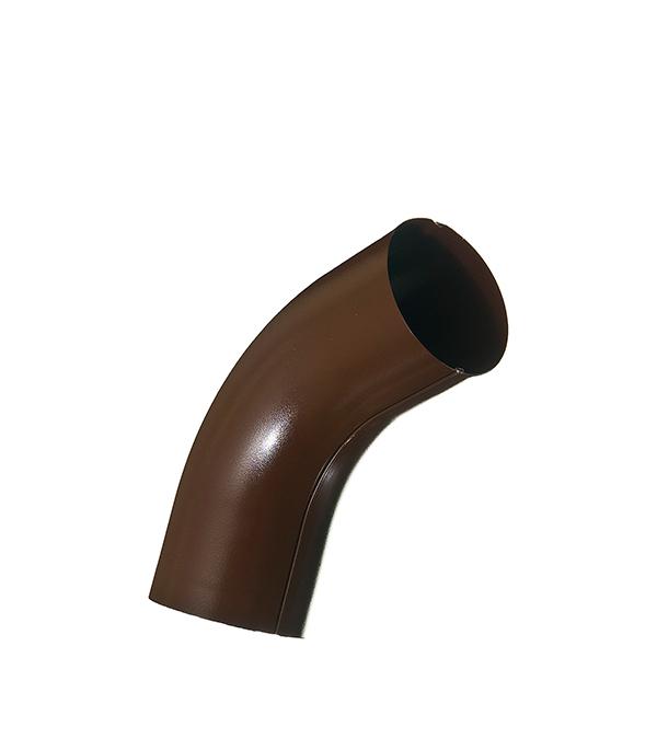 Купить Колено трубы металлическое Grand Line d90 мм 60° коричневое, Коричневый, Металл
