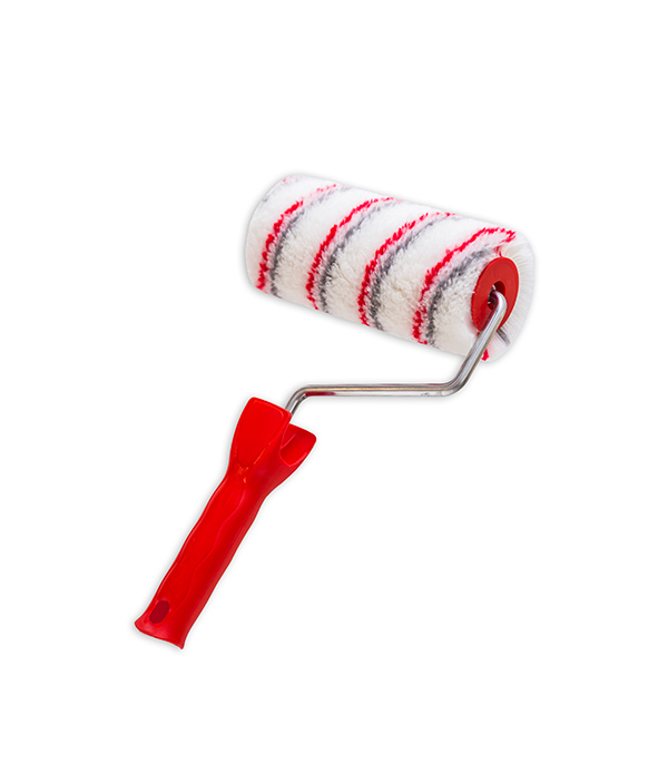 Валик полиакрил Beorol Ultra Red 180 мм с рукояткой валик полиакрил 250 мм с рукояткой gepardakryl профи