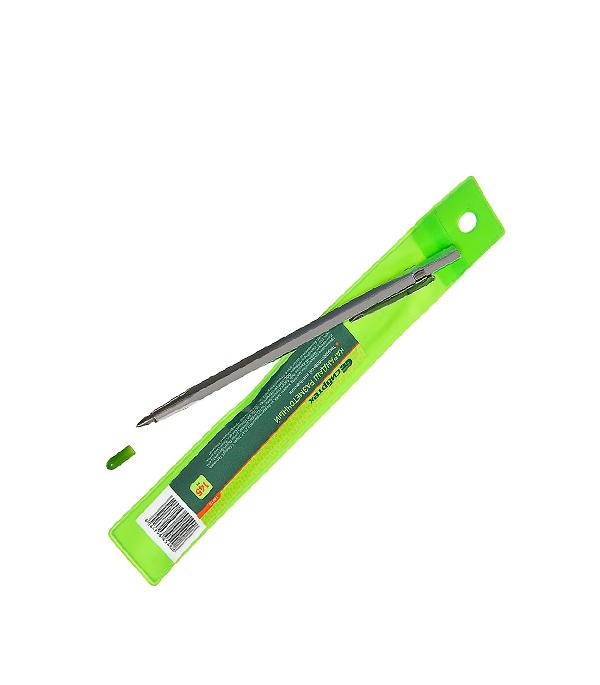 Карандаш разметочный для металла 145 мм разметочный циркуль с винтом 500мм griff 017014