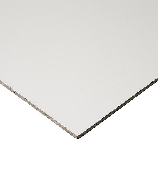 Купить Плита к подвесному потолку Board Bioguard Plain кромка 600х600х12 мм, Минеральное волокно