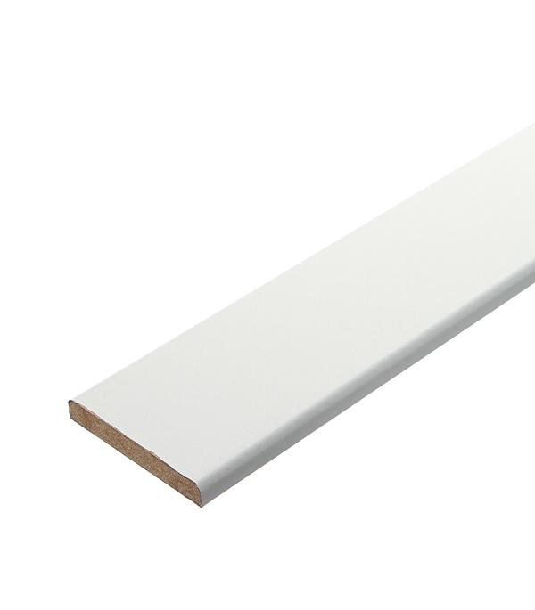 Наличник МДФ белый 70х10х2150 мм сопутствующие товары