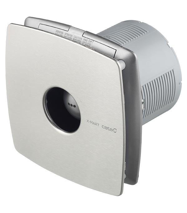 Вентилятор осевой d120 мм Cata X-Mart 12 Inox серебристый вентилятор cata x mart 12 inox d120 мм 20 вт