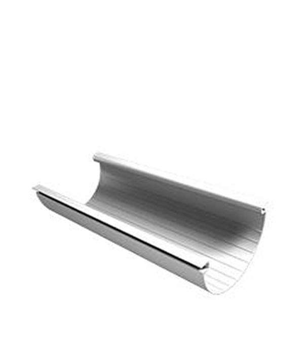 Желоб водосточный пластиковый Vinyl-On 125 мм 4 м белый желоб водосточный металлический 125 мм коричневый 2 5 м grand line