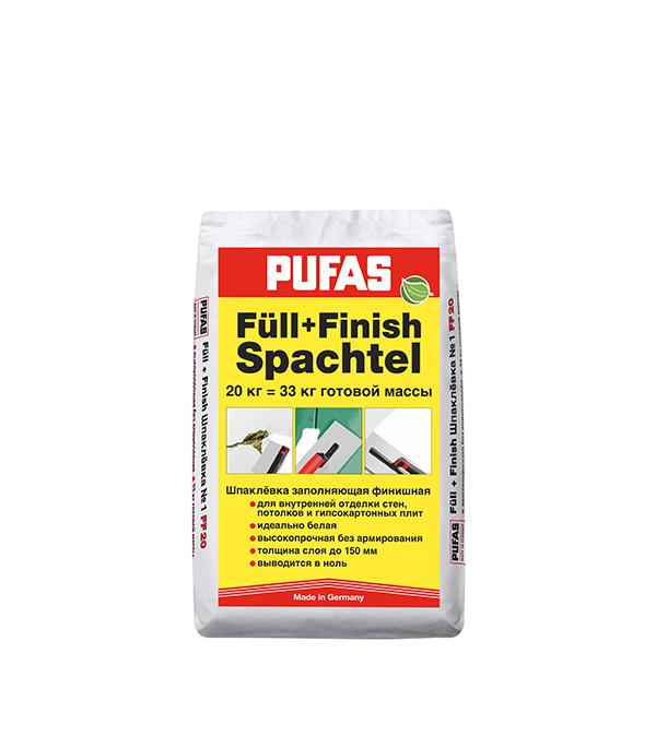 Купить Шпаклевка гипсовая Pufas Full-Finish Spachtel №1 20 кг