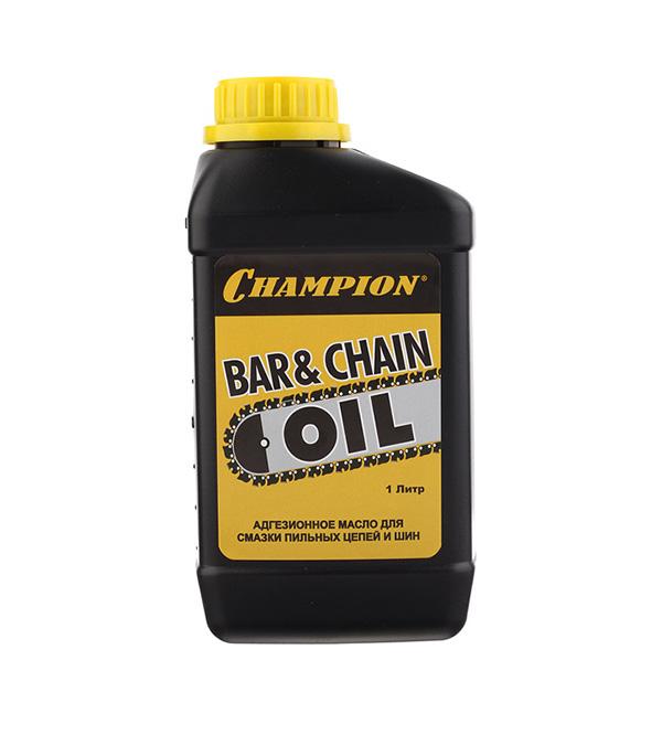 Масло для цепи и шины Champion 1 л сумка для инструмента champion c1371 c215 для шины 18