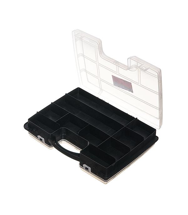Ящик для крепежа Дельта 2-сторонний 29.5х22х7.6 см элементы крепежа