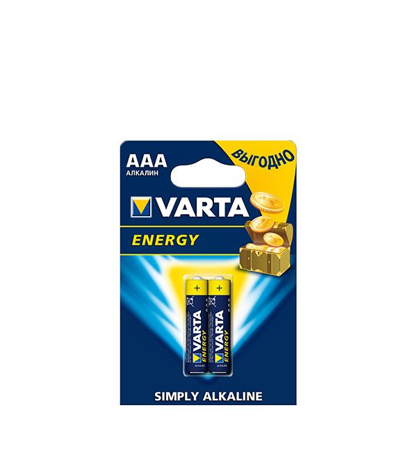 Батарейка VARTA LR03 1.5V (AAA) (2 шт.) батарейка aaa varta energy 4103 lr03 2 штуки 10902