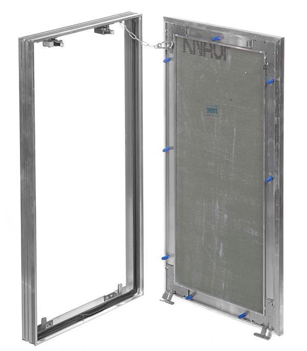 Люк ревизионный 300х600 мм под плитку алюминиевый Гиппократ-П Хаммер люк хаммер гиппократ 200х200