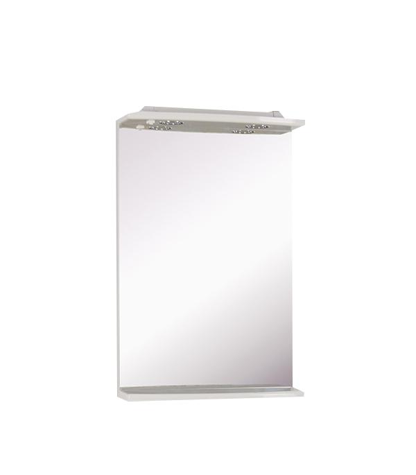 Зеркало АСБ-Мебель Лилия Эко 520 мм с подсветкой белое