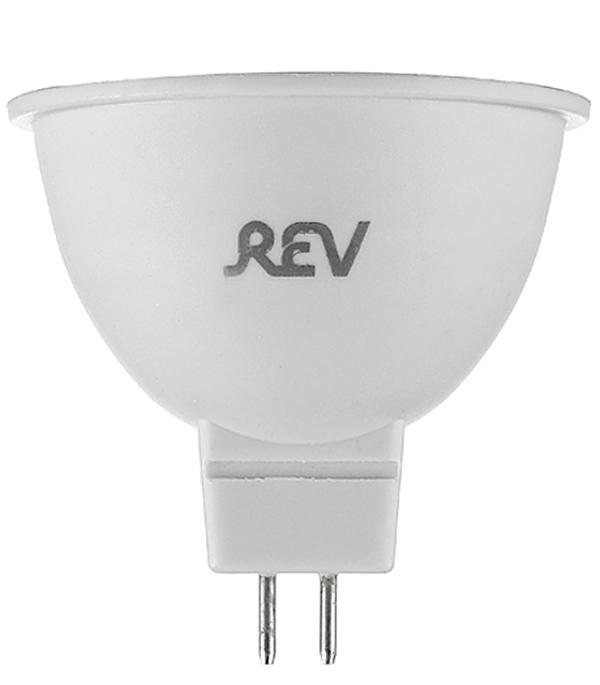 купить Лампа светодиодная MR16 GU5.3  7W, 3000K, теплый свет, REV онлайн