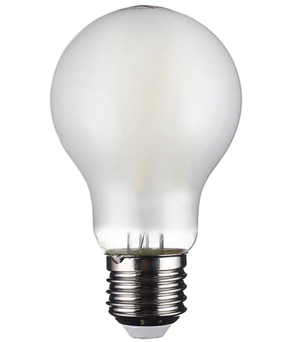 Лампа светодиодная OSRAM филаментная Е27 груша 6,5 Вт 4000 К холодный свет матовая димируемая цена