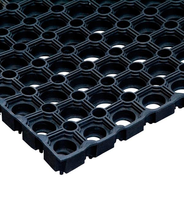 Коврик придверный резиновый черный 150х100 см