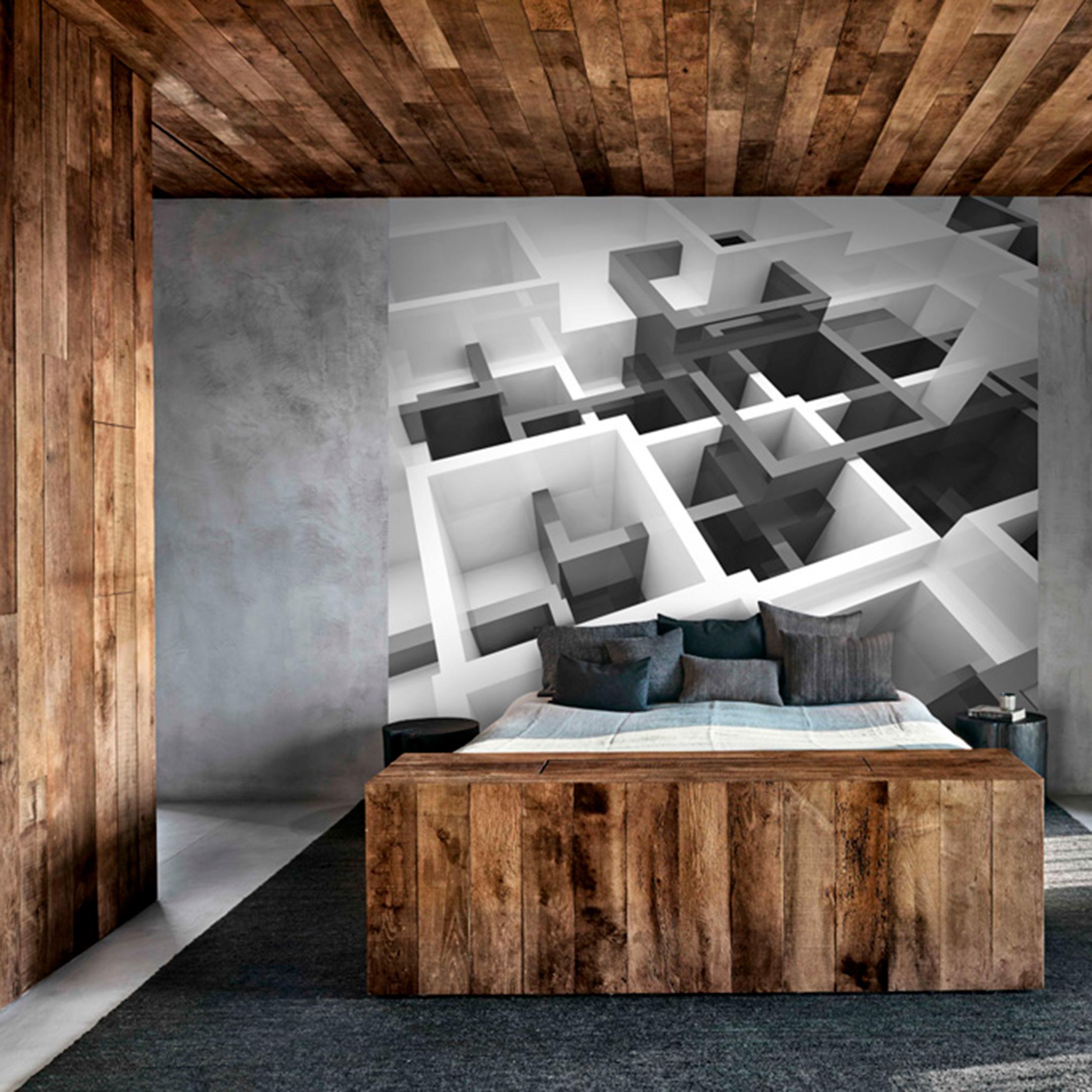 Фотообои Ateliero Черно-белый модерн 30-8144 (3х27 м).