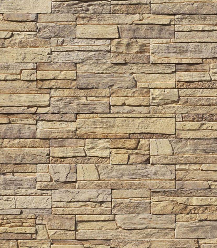 Камень искусственный Monte Alba Каскад Рейндж светло-песочный (16 шт.=0,39 кв.м)