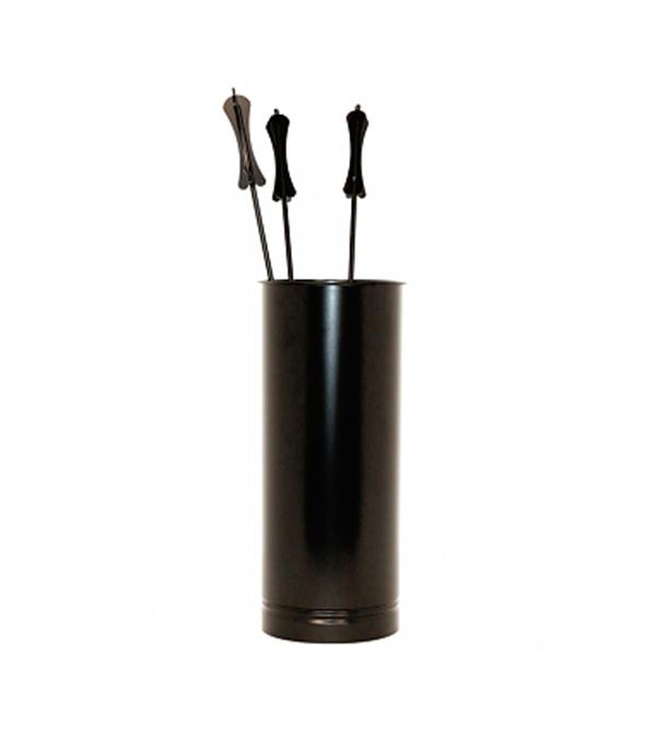 Каминный набор 011-R9005 черный аксессуар