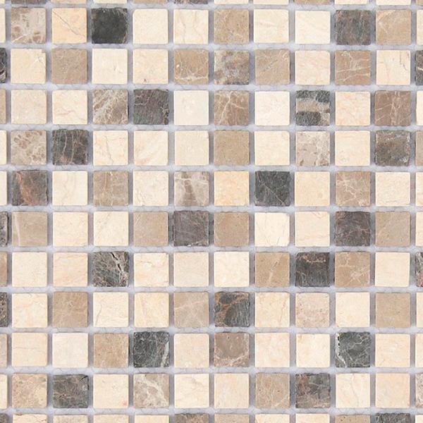 цена на Мозаика Caramelle Pietra Mix 1 из натурального камня 298х298х4 мм матовая