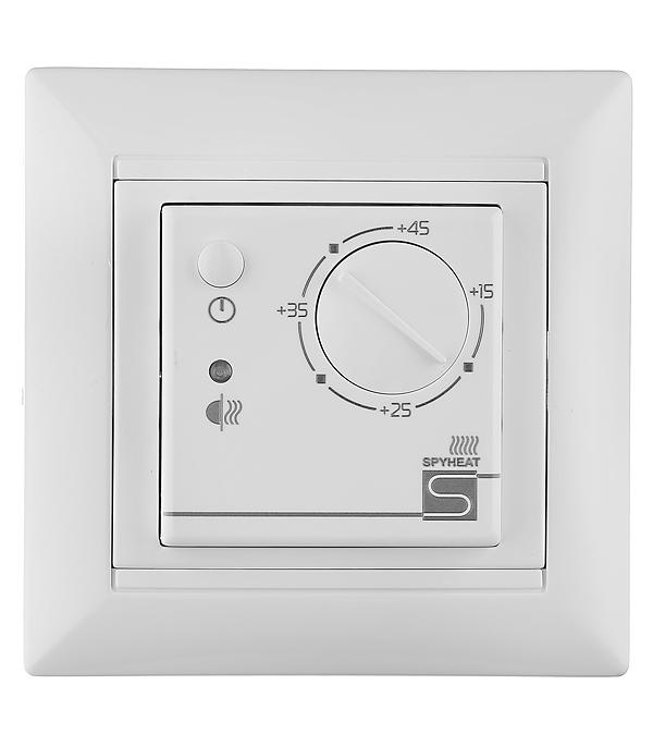 лучшая цена Электронный термостат SPYHEAT ETL-308B белый