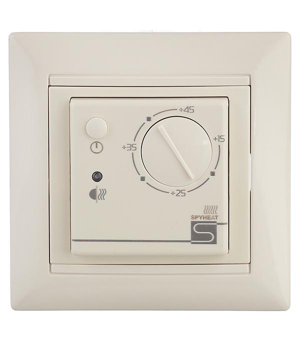 Электронный термостат SPYHEAT ETL-308B бежевый термостат сенсорный spyheat sdf 418h бежевый
