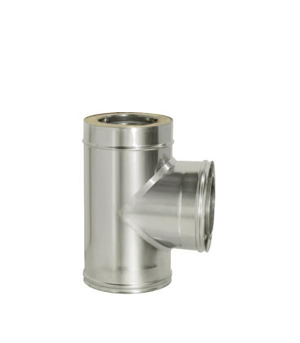 Тройник Дымок 90° с изоляцией 115x200 цена