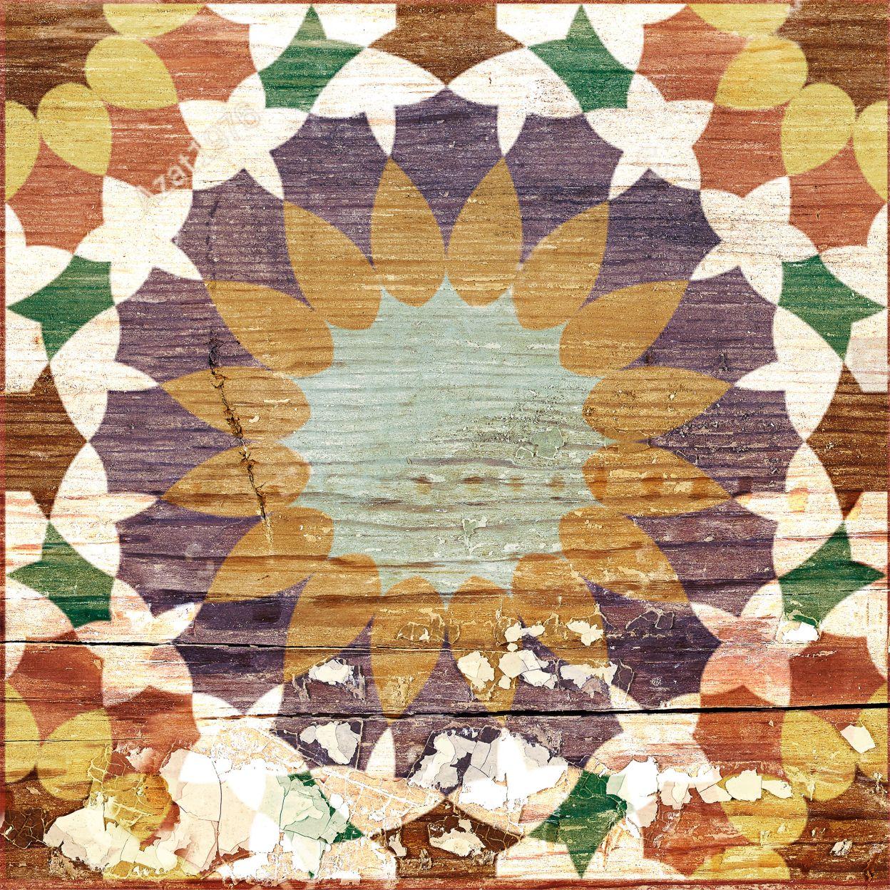 Керамогранит декор Gracia Ceramica Belinda мульти 02 200x200x8 мм (22 шт.=0,88 кв.м) панно gracia ceramica palermo beige 02 50x40 комплект