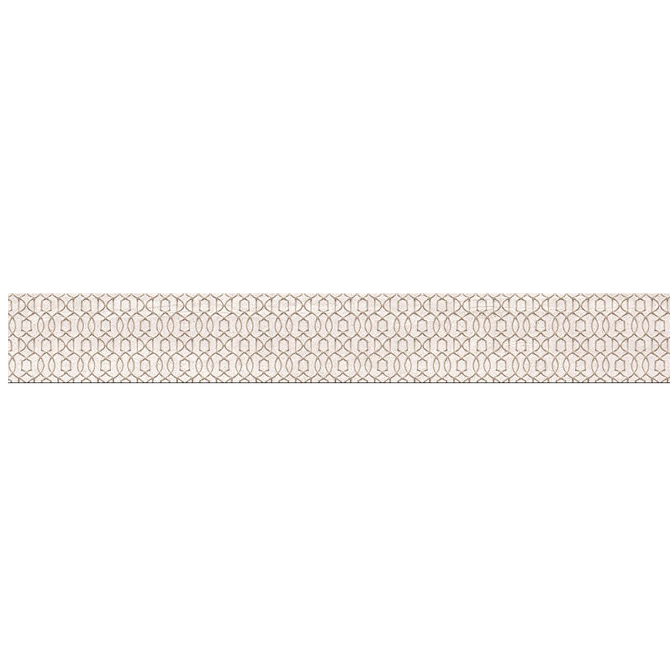 Плитка бордюр Cersanit Alba бежевая 80x590x8 мм (10 шт.=0,48 кв.м) цены