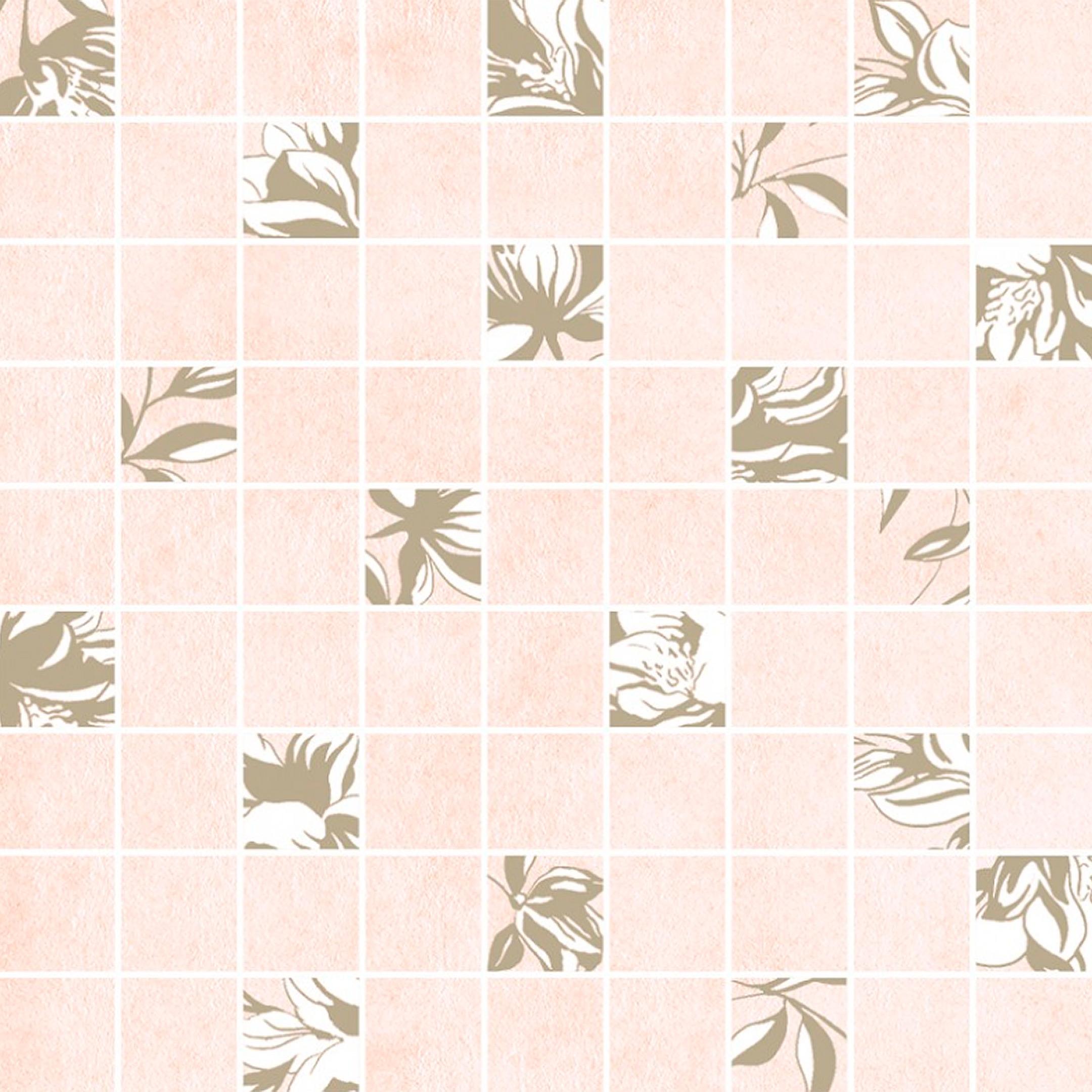 Плитка декор Cersanit Chantal мозаика бежевый 300x300x8,5 мм