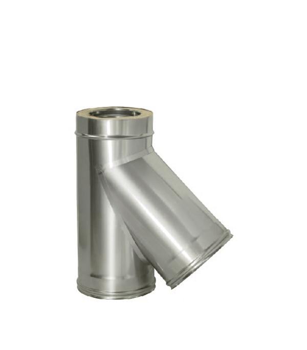 Тройник Дымок 45° с изоляцией 115x200 цена