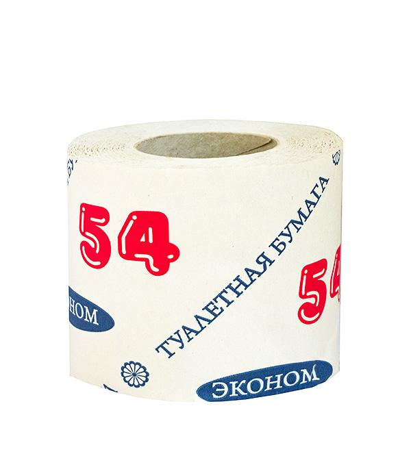 Бумага туалетная 50 г однослойная