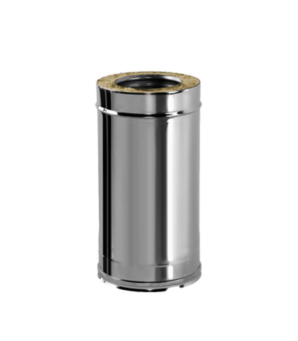 Дымоход Вулкан V50R сэндвич d120х220 х 500 мм с изоляцией AISI 321/304