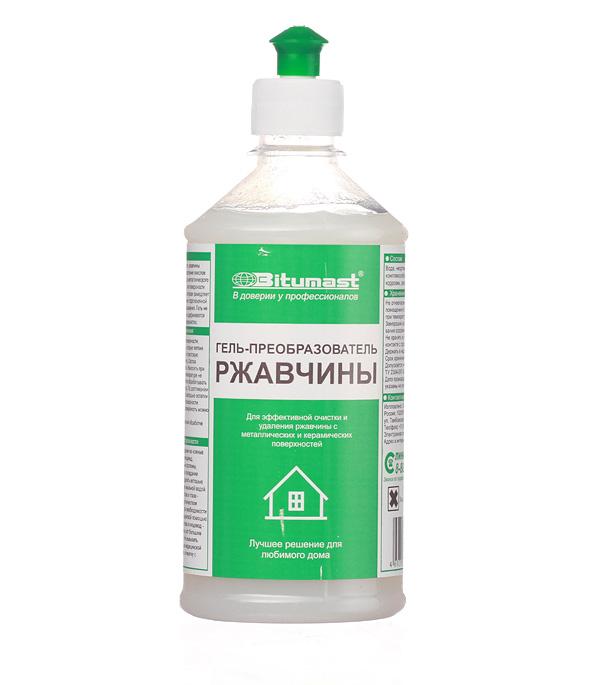 Средство преобразователь ржавчины гель Bitumast 0,5 л