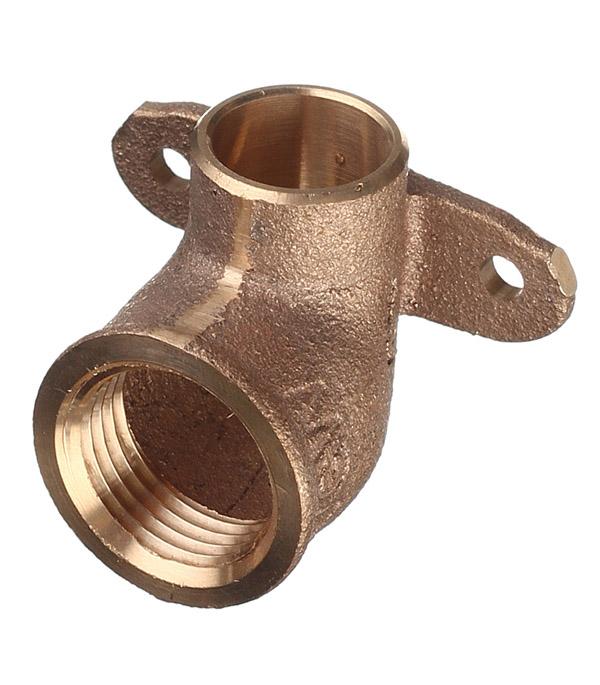 Водорозетка Viega под внутреннюю пайку 15 мм х 1/2 ВР(г) медная