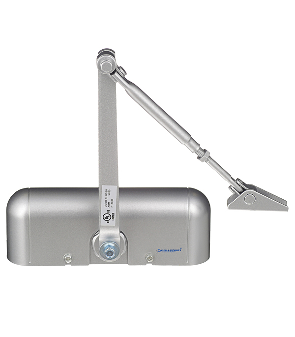 Доводчик дверной Palladium 1025 D 15-25 кг серебро цена