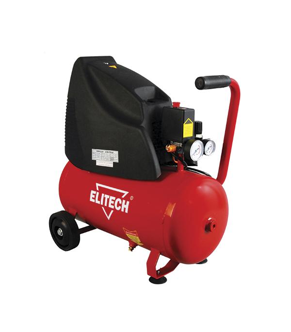 цена на Компрессор безмасляный Elitech КПБ 190/24 24 л 1,5 кВт
