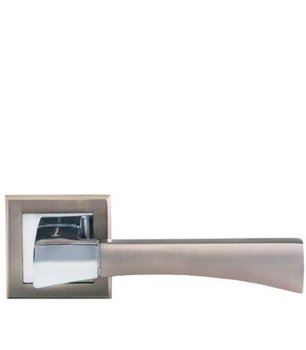Дверная ручка Palladium City A Trevi SN/CP матовый никель/хром ручка palladium city a domino sn cp мат никель хром