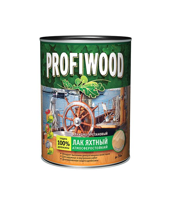 Лак алкидно-уретановый яхтный Profiwood бесцветный 0,8 л/0,7 кг глянцевый