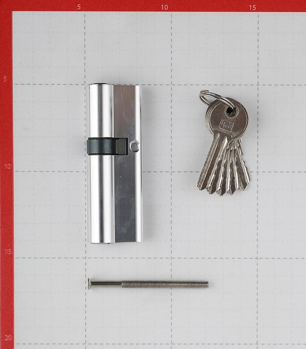 Цилиндр Palladium AL 35х55 CP 90 (35х55) мм ключ/ключ хром