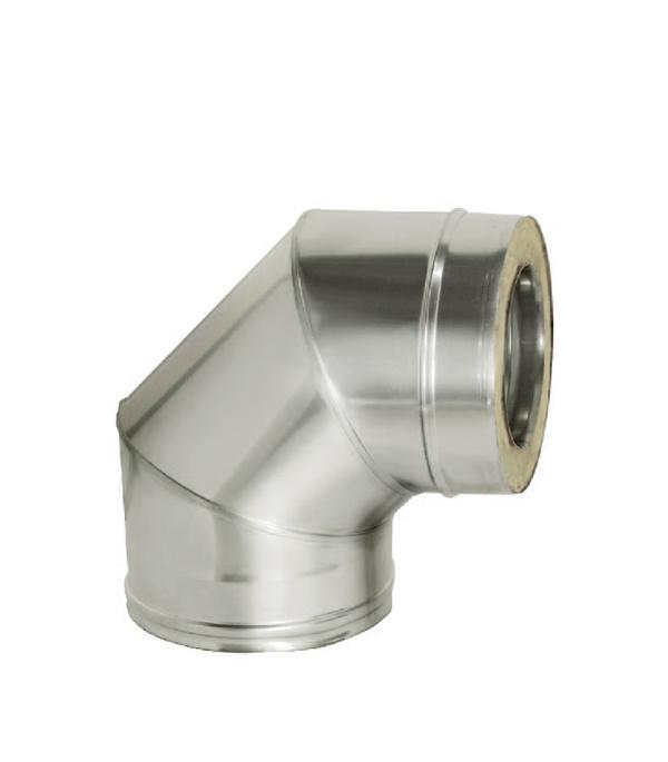 Отвод Дымок 90° с изоляцией 115x200 стоимость