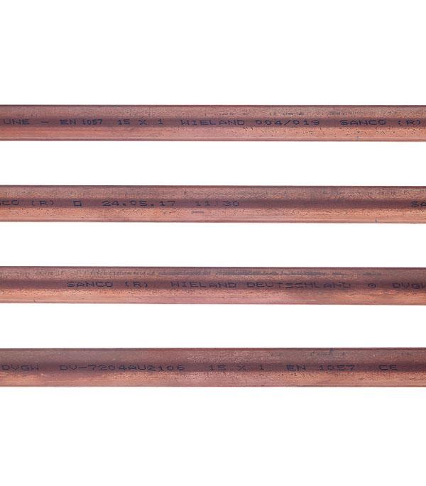 Труба медная неотожженная Viega 15х1 мм