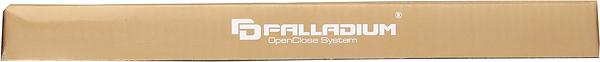 Замок врезной Palladium 2000 CP универсальный под цилиндр (хром)
