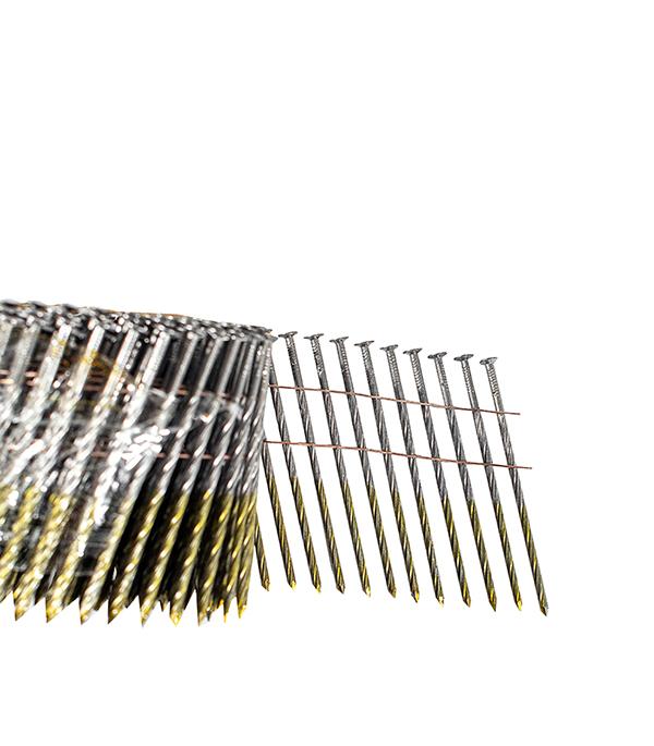 Гвозди 2,8x88 мм с винтовой накаткой (250 шт.) гвозди с кольцевой накаткой 3000 шт 3 05х90 мм для гвоздезабивного пистолета n90 fubag 140107