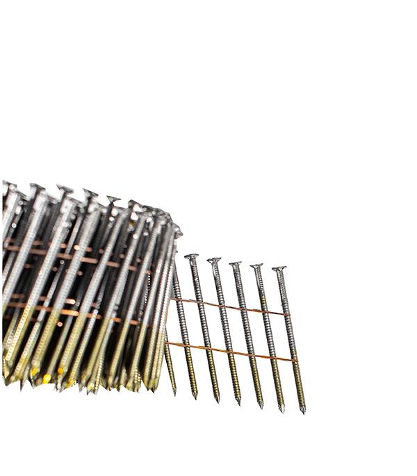 Гвозди 2,5x60 мм с кольцевой накаткой (300 шт.) гвозди с кольцевой накаткой 3000 шт 3 05х90 мм для гвоздезабивного пистолета n90 fubag 140107