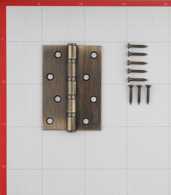 Петля ФЗ Е-100 AB универсальная неразъемная 100х75 мм бронза