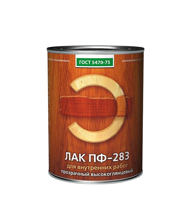Лак алкидный Empils ПФ-283 ГОСТ 5470-75 бесцветный 0,8 кг высокоглянцевый лак для внутренней отделки алкидный расцвет empils 1 9 кг