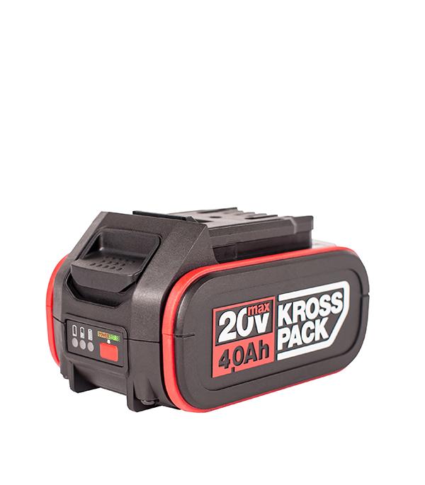 Аккумулятор Kress (KA3498) 20В 4Ач Li-Ion kross evado 1 0 2016